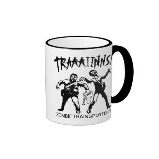Taza de Trainspotters del zombi