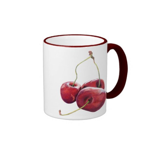 Taza de tres cerezas