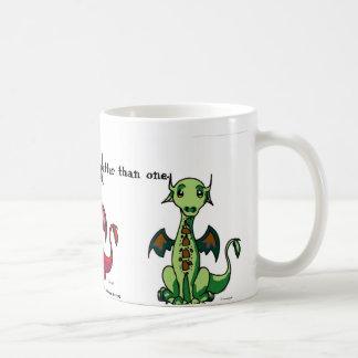 Taza de tres dragones