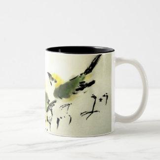 Taza de tres pájaros