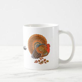 Taza de Turquía Coffe de la acción de gracias