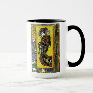 Taza de Van Gogh Japonaiserie Oiran