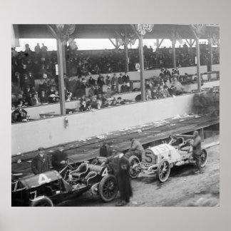 Taza de Vanderbilt: 1908 Impresiones