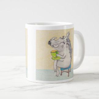 Taza de Warthog del dibujo animado Tazas Jumbo