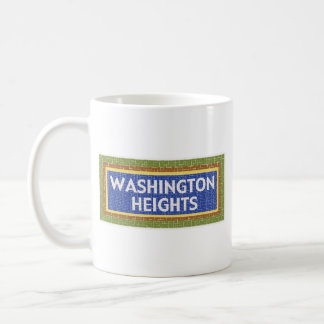 Taza de Washington Heights