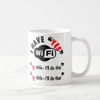 Taza de Wi-Fi