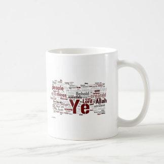 Taza de Wordle del pecado de Ya de la surá