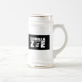 Taza de Zoe del gorila - logotipo