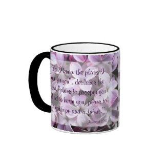 Taza del 29:11 de Jeremiah de las lilas