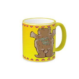 Taza del abrazo de oso