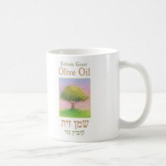 taza del aceite de oliva del gezer