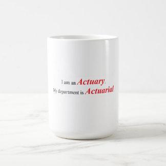 Taza del actuario