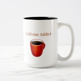 Taza del adicto a cafeína