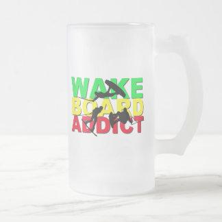 Taza del adicto a Wakeboard