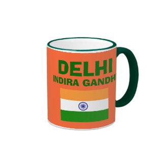 Taza del aeropuerto internacional de Delhi* (DEL)