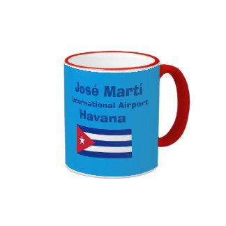 Taza del aeropuerto internacional de La Habana