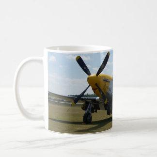 Taza del airshow del warbird del mustango P-51