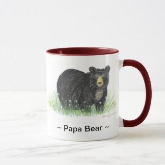 taza del ajuste del marrón del oso negro del ~ del