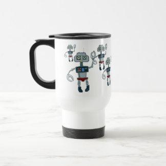 Taza del alboroto del robot
