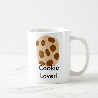 Taza del amante de la galleta
