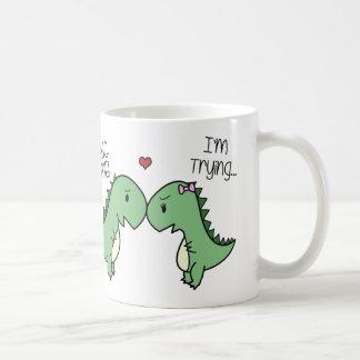 ¡Taza del amor de Dino! Taza Clásica