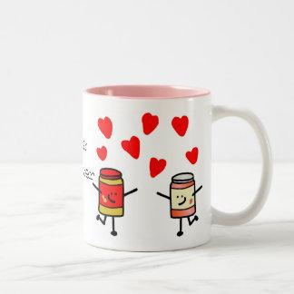 """""""Taza del amor de PB&J"""""""