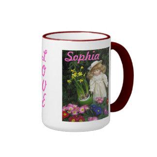 Taza del amor de Sophia