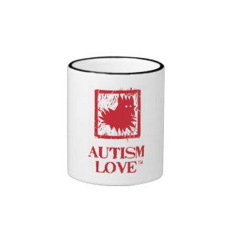 Taza del amor del autismo