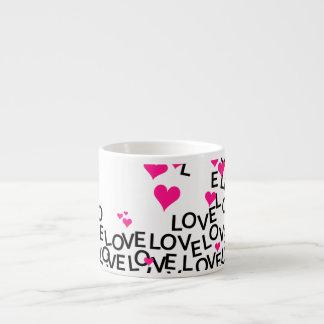 Taza del amor del el día de San Valentín Taza Espresso
