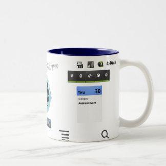 taza del androide del cianógeno