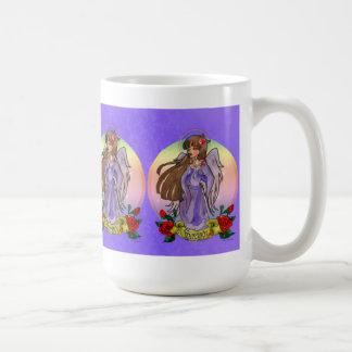 Taza del ángel de la serenidad