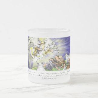 Taza del ángel del navidad