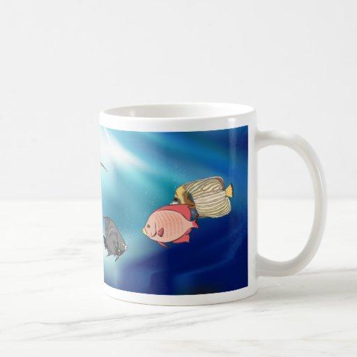 Taza del Angelfish