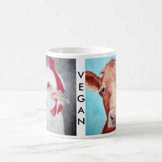 Taza del animal del vegano