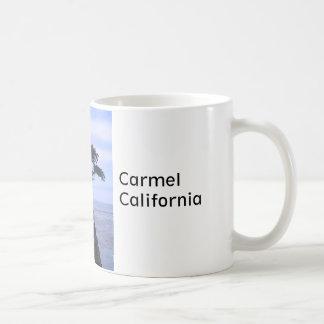 Taza del árbol de cedro de Carmel