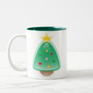 Taza del árbol de Squee del navidad de Squishies