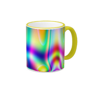 ¡taza del arco iris! taza de dos colores