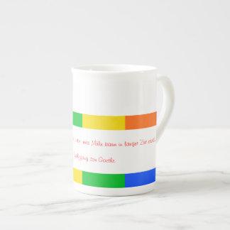 Taza del arco iris taza de china