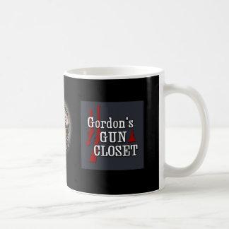 Taza del armario del arma de Gordon
