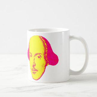 Taza del arte pop de William Shakespeare