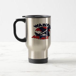 Taza del as del aire de WABX