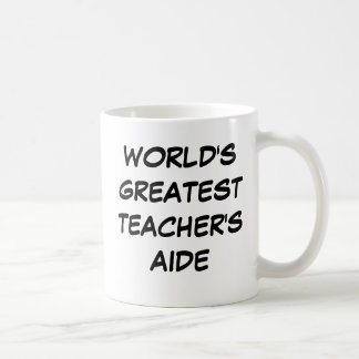 """""""Taza del asistente del profesor más grande del mu"""