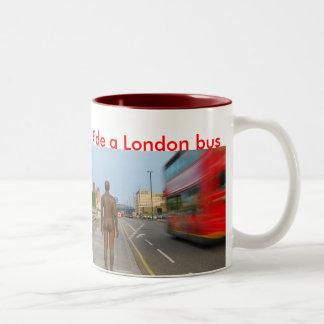 Taza del autobús de Londres