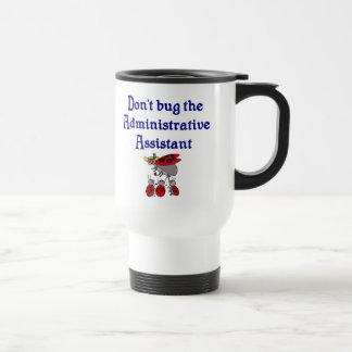 Taza del ayudante administrativo