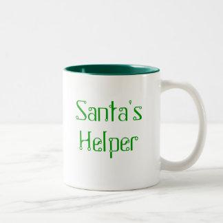 Taza del ayudante de Santa - Greem