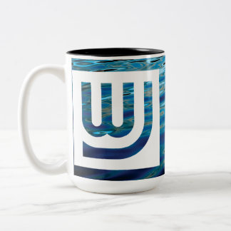 Taza del azul de Wtr del viaje de WJ