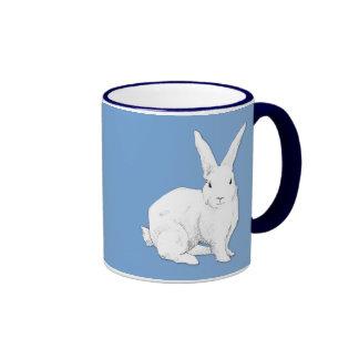 Taza del azul del conejo