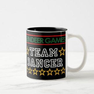 Taza del bailarín del equipo