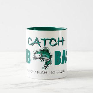 Taza del BAJO de la COPIA del club de la pesca de