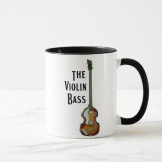 Taza del bajo del violín